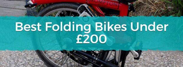Best Folding Bikes Under £200