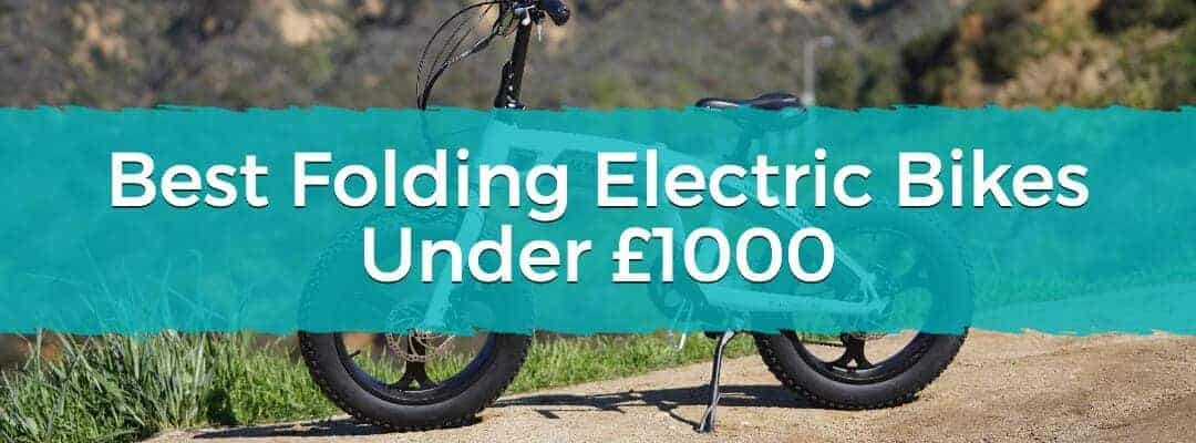 Best Folding Electric Bikes Under £1000 Featured Image