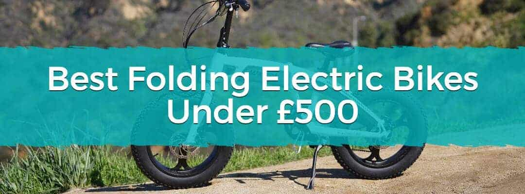 Best Folding Electric Bikes Under £500 Featured Image