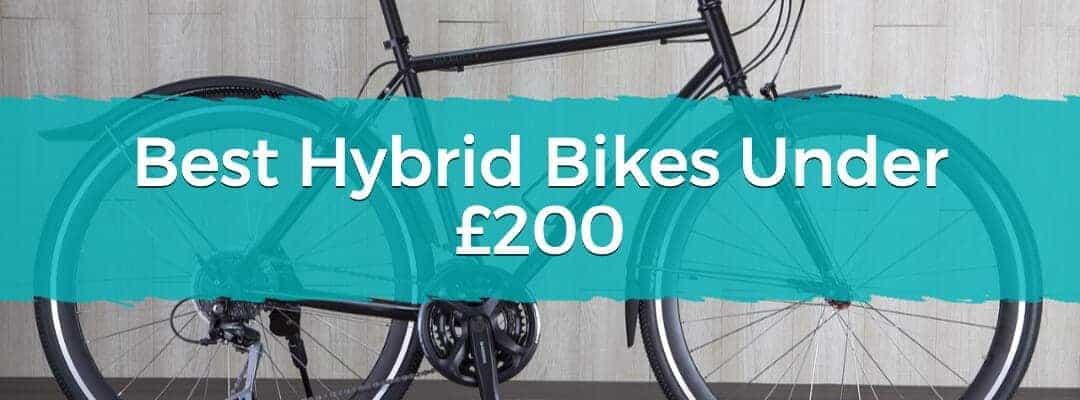 Best Hybrid Bikes Under £200 Featured Image