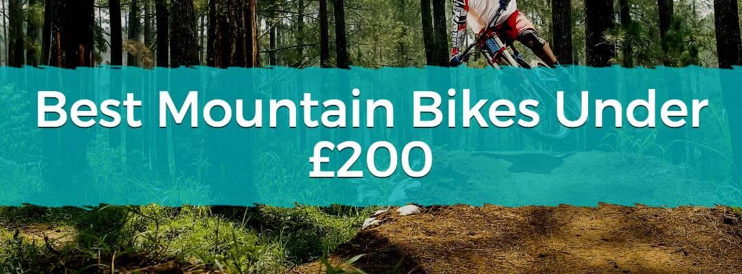 Best Mountain Bikes Under £200 Featured Image