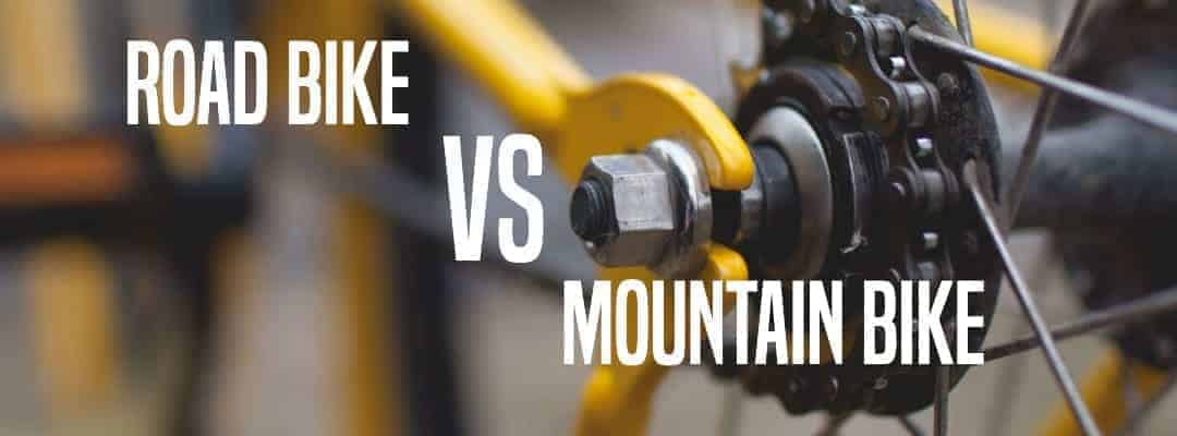 The Differences Between Mountain Bikes and Road Bikes